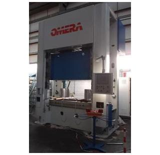 zdjęcie prasy hydraulicznej wysięgowa Omera-125T BTC