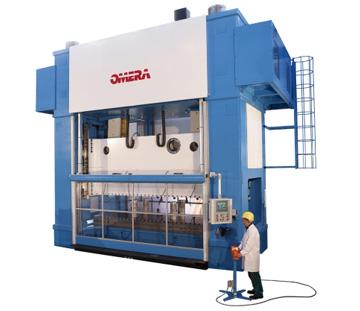 zobacz więcej informacji o prasach mechanicznych bramowych OMERA